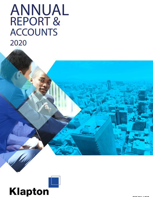 Klapton Insurance Company posts 2020 Annual Report & Accounts